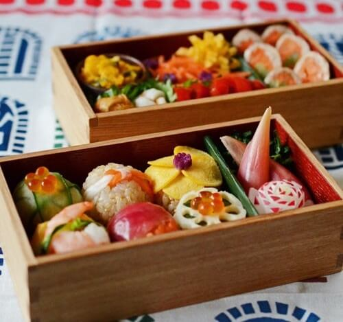 Sushi that can be used in Bento