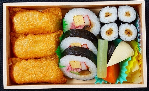 Sushi that can be used in Bento, Sukeroku Sushi