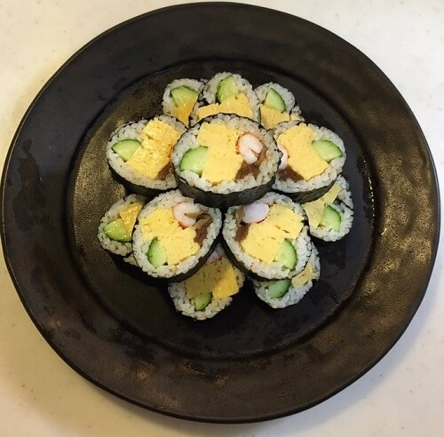 Sushi that can be used in Bento, Temaki Sushi