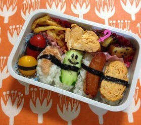 Sushi that can be used in Bento, Completed Sushi Bento
