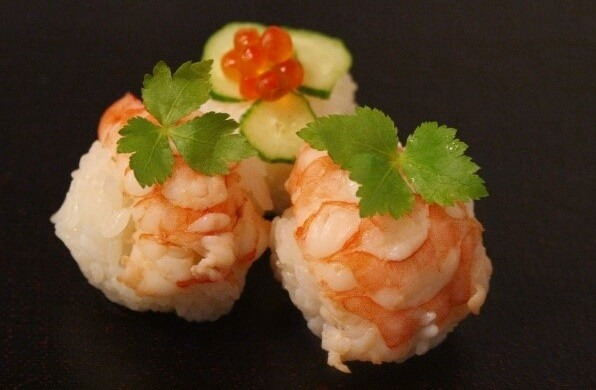 Easy recipe for Temari Sushi, shrimp Sushi
