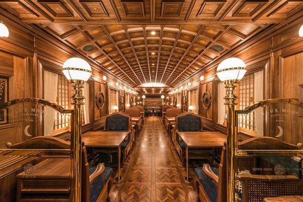 Seven Stars in Kyushu, cruise train of Japan, cabin