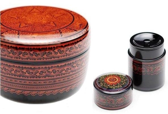 Kagawa lacquerware, a Japanese traditional craft, signature products
