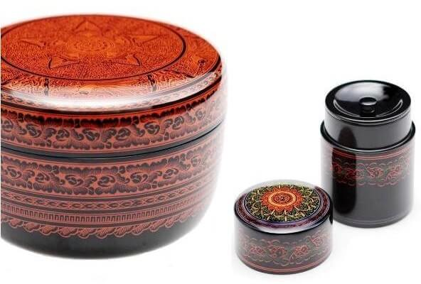 Kagawa lacquerware, a Japanese traditional craft, signature products