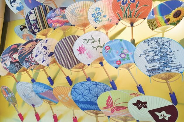 Marugame Uchiwa fans, a traditional Japanese craft, various products