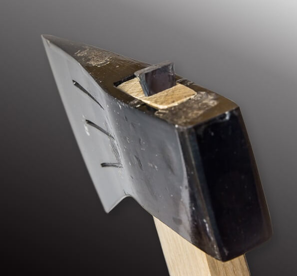 Tosa cutlery, a traditional Japanese craft, details of axe