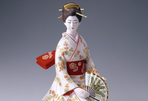 Hakata dolls, a Japanese doll craft, another beautiful woman doll