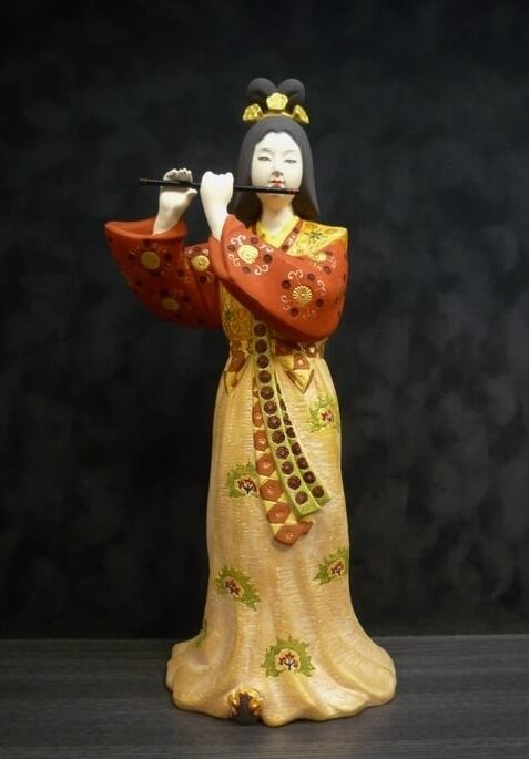 Hakata dolls, a Japanese doll craft, sample of higher price doll, beautiful woman