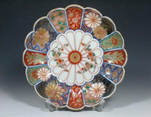 Arita Imari porcelain, a traditional Japanese craft, beautiful large dish