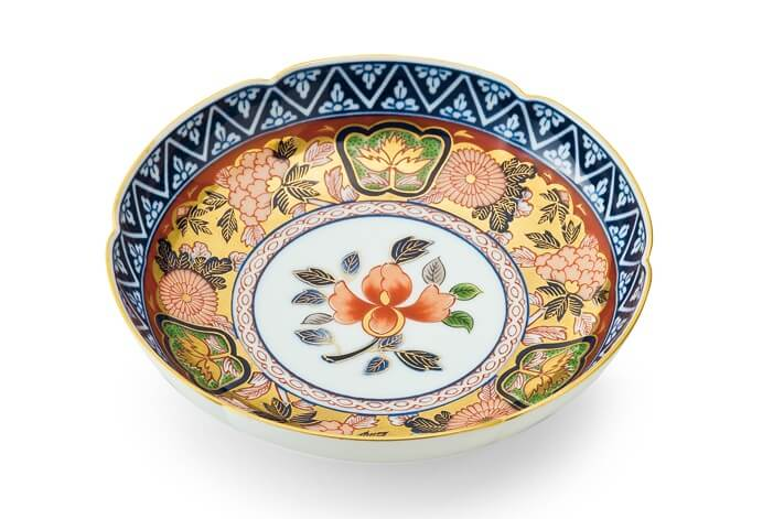 Arita Imari porcelain, a traditional Japanese craft, Koimari plate