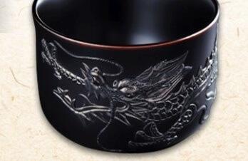 Ryukyu lacquerware, Tsuikin decoration of dragon on surface