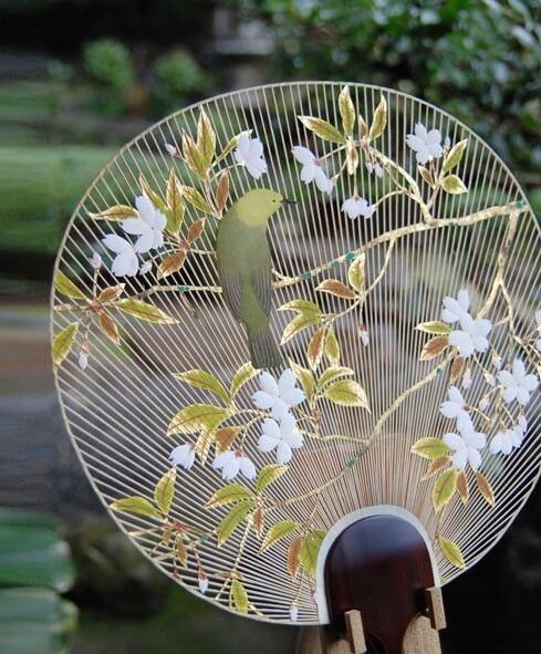 ways of using Japanese bamboo, Uchiwa fan