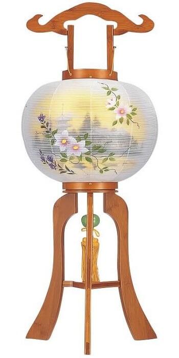 ways of using Japanese bamboo, paper lantern