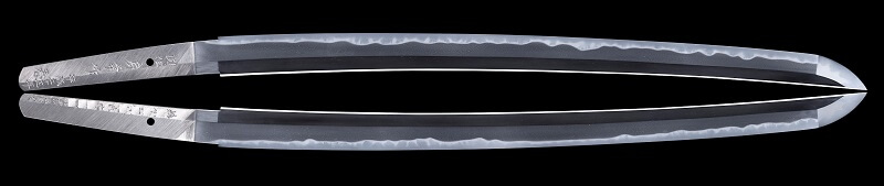 blade details of Japanese swords