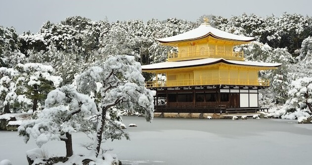 Japanese traditional color pallet for art, colors in nature in winter