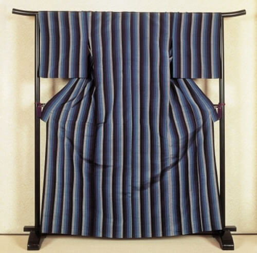 Kimono, Japanese traditional cloth, completed one for men