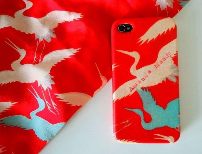 new idea product of using Kimono iPhone case