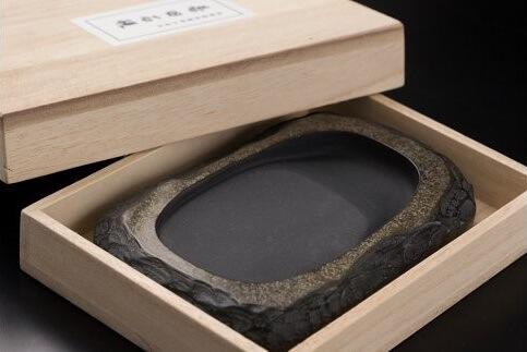 Suzuri, a traditional crafts of Japan for Shodo callgiraphy writing