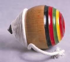 Koma spinning top as a Japanese crafts in Nagasaki