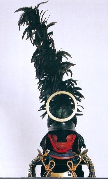 Samurai helmet, Japanese Kabuto, strange long shape