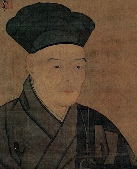 famous Suibokuga drawing artist in past Japan