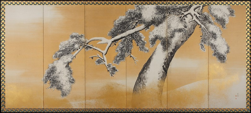 Byobu by Maruyama Ohkya, Japan's national treasure, entire view of the other half