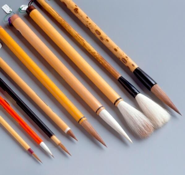 Shodo equipment, Fude writing brush