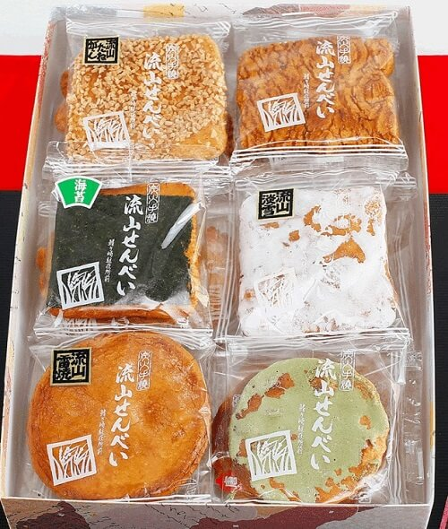 uses of Japanese calligraphy Shodo, package of snacks