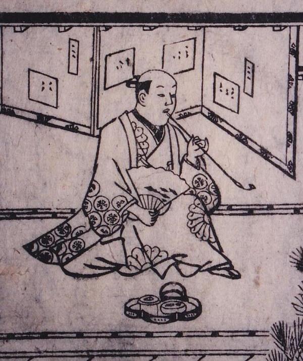 founder of Ukiyo-e, Moronobu Hishikawa