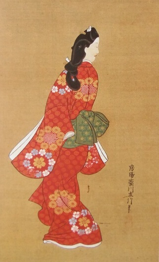 head-turner, the most famous ukiyo-e by Moronobu Hishikawa